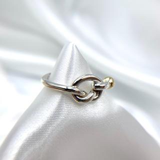 ティファニー(Tiffany & Co.)の美品☆ティファニー フック&アイ リング 7号(リング(指輪))