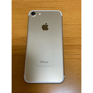 Apple - iPhone7 32GB SIMフリー Gold