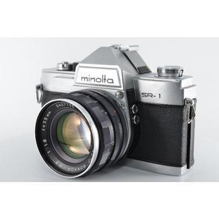 コニカミノルタ(KONICA MINOLTA)のミノルタ Minolta SR-1 35mm #1172【入門用・モルト交換済】(フィルムカメラ)