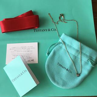 Tiffany & Co. - カラーバイザヤードペンダント ティファニー アクアマリン