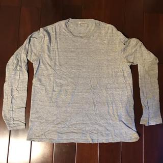 コモリ(COMOLI)のAURALEE オーラリー ロンT グレー 4(Tシャツ/カットソー(七分/長袖))