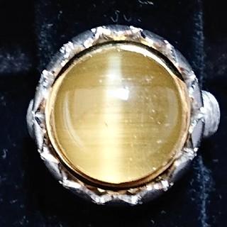 13.13ct ルチルキャッツアイ リング(リング(指輪))