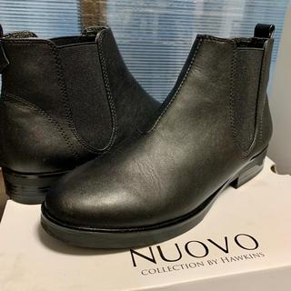 ヌォーボ(Nuovo)のサイドゴアブーツ/24.5~25.0cm(ブーツ)