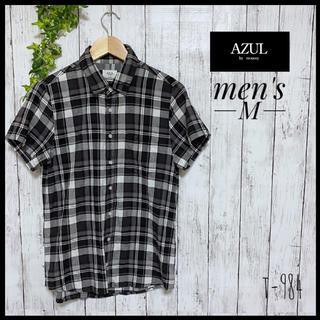 マウジー(moussy)の【マウジー】 ボタンシャツ  トップス 半袖(シャツ)