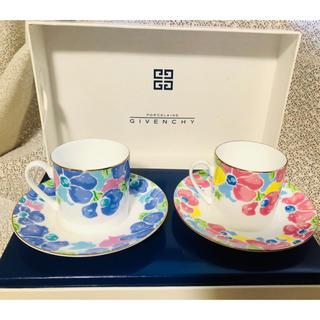 GIVENCHY - 【新品未使用】GIVENCHY コーヒーカップ ティーカップ ペアセット