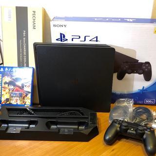 プレイステーション(PlayStation)のPlayStation4 本体 500GB PS4/保証書あり(家庭用ゲーム機本体)