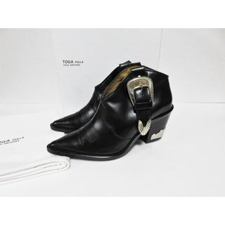 TOGA - 定価7.9万 TOGA PULLA Ankle western boots 37