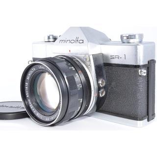 コニカミノルタ(KONICA MINOLTA)のミノルタ SRT-101 55mm f1.8 #1174【入門用・モルト交換済】(フィルムカメラ)