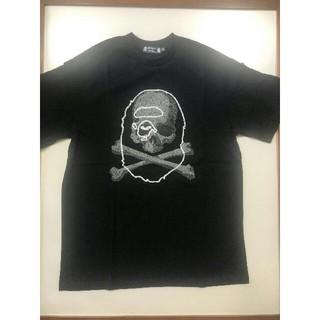 アベイシングエイプ(A BATHING APE)のBAPE VS Mastermind JAPAN TEE 黒S(Tシャツ/カットソー(半袖/袖なし))