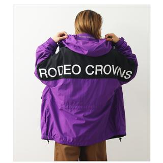RODEO CROWNS WIDE BOWL - ロデオクラウンズワイドボウル MOUNTAIN PARKA パープル 新品