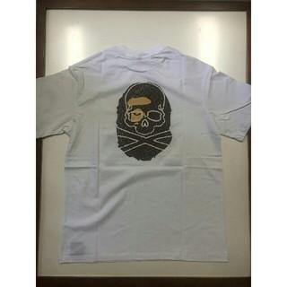 アベイシングエイプ(A BATHING APE)のBAPE VS Mastermind JAPAN TEE 白S(Tシャツ/カットソー(半袖/袖なし))