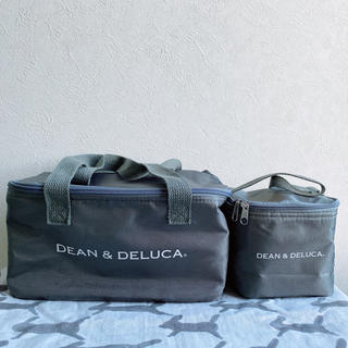 ディーンアンドデルーカ(DEAN & DELUCA)のDEAN&DELUCA  付録保冷バッグ 2点セット グレー(日用品/生活雑貨)