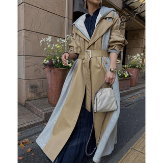 アメリヴィンテージ(Ameri VINTAGE)のAmeri VINTAGE ✨SWEAT DOCKING TRENCH COAT(トレンチコート)