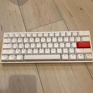 Ducky One 2 mini white  銀軸