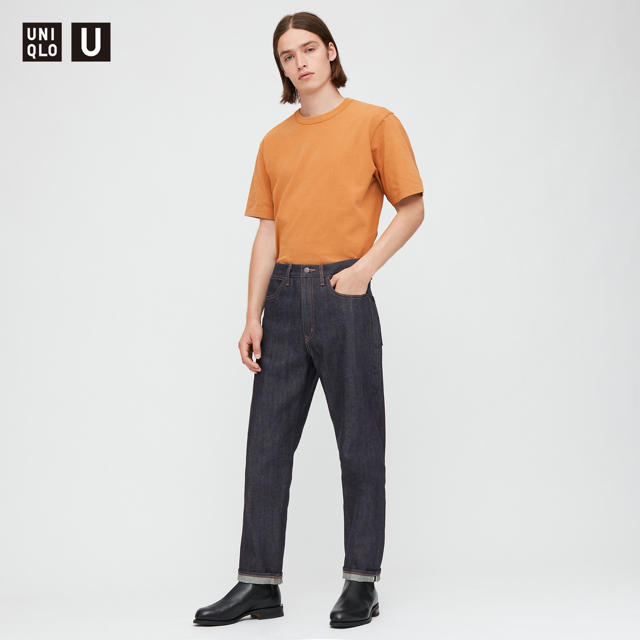 UNIQLO(ユニクロ)のUNIQLO U ユニクロユー セルビッジレギュラーフィットジーンズ28新品 メンズのパンツ(デニム/ジーンズ)の商品写真
