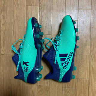 アディダス(adidas)のadidas サッカースパイク X 27.5 新品(シューズ)
