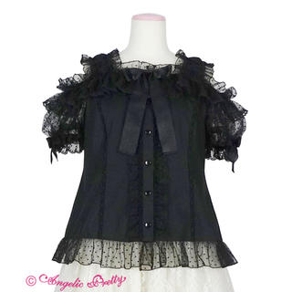 Angelic Pretty - Angelic Pretty Lovely Frill ブラウス 黒
