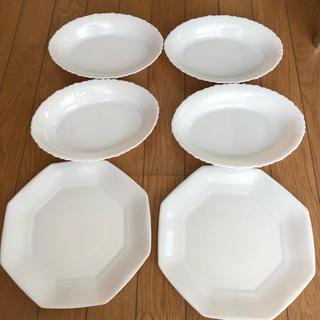 山崎製パン - ヤマザキパン祭り白いお皿6枚