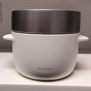 バルミューダ(BALMUDA)のBALMUDA  炊飯器(炊飯器)