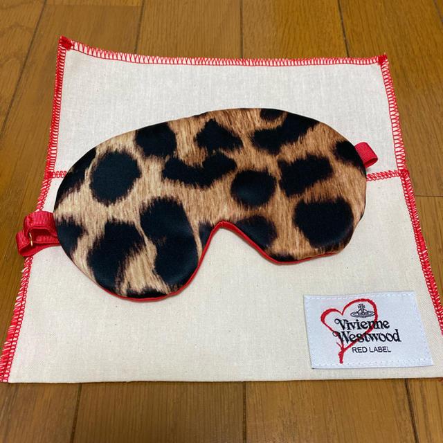 Vivienne Westwood(ヴィヴィアンウエストウッド)のVivienne Westwood ノベルティ レオパード アイマスク レディースのファッション小物(財布)の商品写真