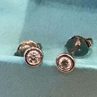 ティファニー(Tiffany & Co.)のティファニー バイザヤード   プラチナ ピアス 0.16カラット(ピアス)