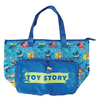 Disney - ディズニー トイストーリー 保冷折り畳みトートバッグ エコバッグ