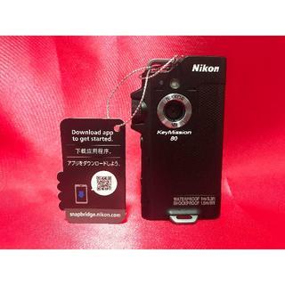 Nikon - 展示美品!保証有り!KeyMission 80 ニコン キーミッション80