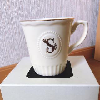 アフタヌーンティー(AfternoonTea)のアフタヌーンティー イニシャルマグカップ S(グラス/カップ)