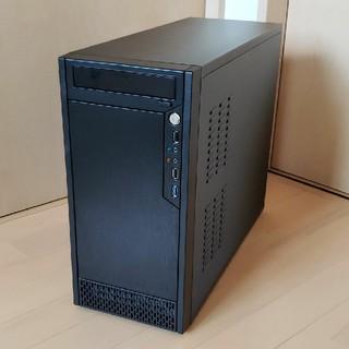PCケース MicroATX (リムーバブルディスク 7基搭載可能)