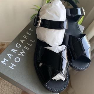 マーガレットハウエル(MARGARET HOWELL)の⭐︎新品未使用⭐︎マーガレットハウエル サンダル(25センチ) 送料込み⭐︎(ローファー/革靴)
