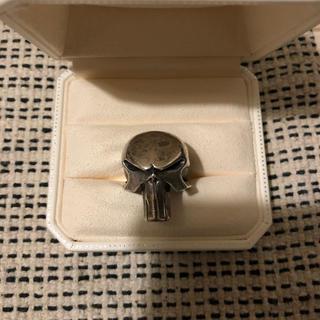 エーエフエフエー(AFFA)の96年製限定JAP工房パニッシャーリングsv925バウンティーハンターヒカル着用(リング(指輪))
