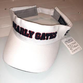 パーリーゲイツ(PEARLY GATES)のPEARLY GATES サンバイザー(キャップ)