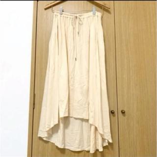 ローリーズファーム(LOWRYS FARM)のロングスカート 白スカート ローリーズファーム(ロングスカート)
