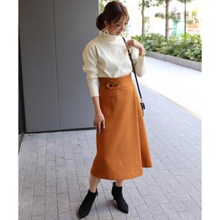 スピックアンドスパンノーブル(Spick and Span Noble)のNOBLE ノーブル スカート(ひざ丈スカート)