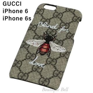 Gucci - 【GUCCI】グッチ GG BlindforLove iPhone6/6sケース