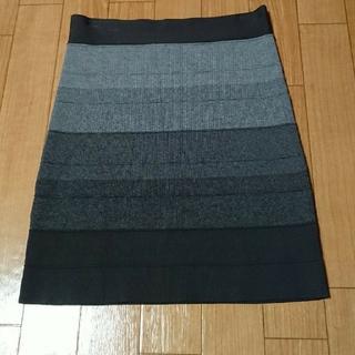 ビーシービージーマックスアズリア(BCBGMAXAZRIA)のBCBGMAXAZRIA 総ゴムタイトスカート(ミニスカート)