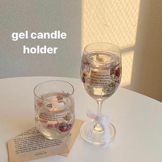 gel candle holder