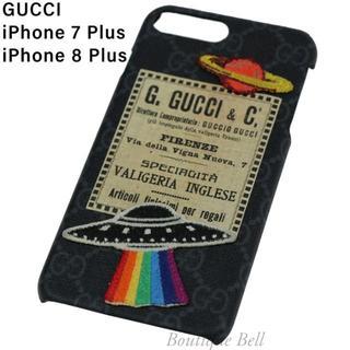 Gucci - 【GUCCI】グッチ UFOナイトクーリエ iPhone7/8Plusケース