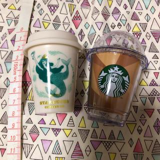 スターバックスコーヒー(Starbucks Coffee)のスタバ ミニカップギフト*小物入れ(小物入れ)