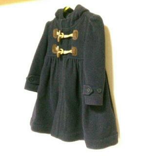 ラルフローレン(Ralph Lauren)のコート ネイビー フード付 ラルフローレン 24M(コート)