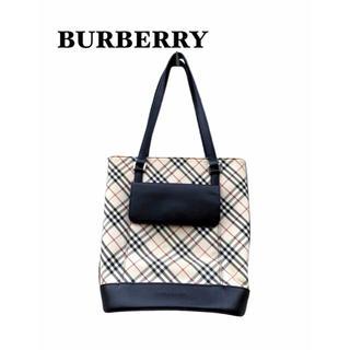 BURBERRY - 【 BURBERRY 】ノバチェック ハンドバッグ