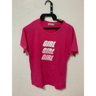 ウィゴー(WEGO)のTシャツ ピンク(Tシャツ(半袖/袖なし))