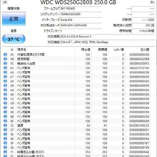 Western Digital M.2 SATA BLUE SSD 250GB