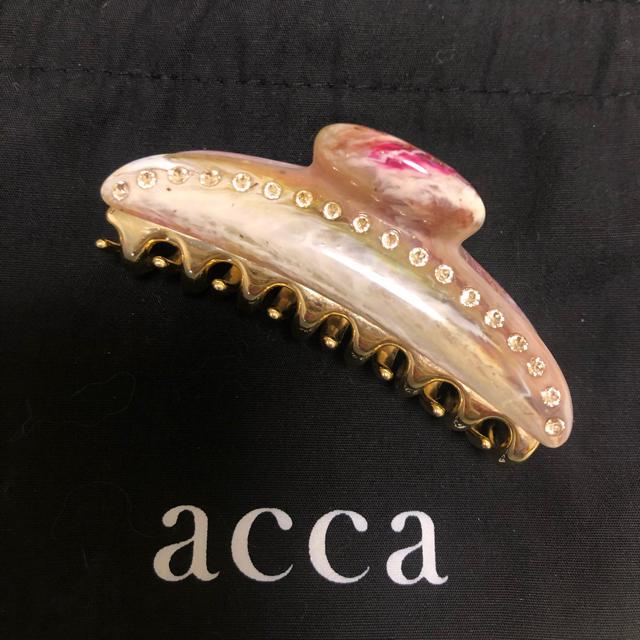 acca(アッカ)のacca ティアラクィーン 中 レディースのヘアアクセサリー(バレッタ/ヘアクリップ)の商品写真