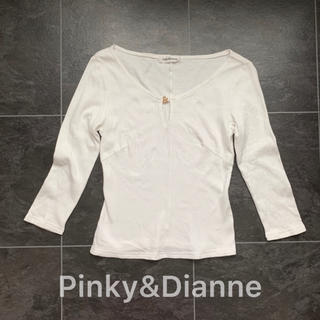 ピンキーアンドダイアン(Pinky&Dianne)のPinky&Dianne♡七分袖カットソー(カットソー(長袖/七分))
