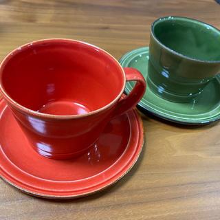 アフタヌーンティー(AfternoonTea)のアフタヌーンティー Afternoon Tea カップ ソーサー ペア(グラス/カップ)
