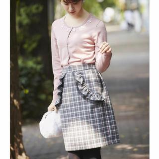 トッコ(tocco)のtocco♡起毛チェックタイトスカート(ひざ丈スカート)