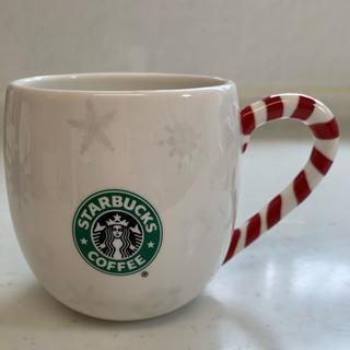 スターバックスコーヒー(Starbucks Coffee)のスターバックス 旧ロゴ クリスマス限定マグカップ(グラス/カップ)