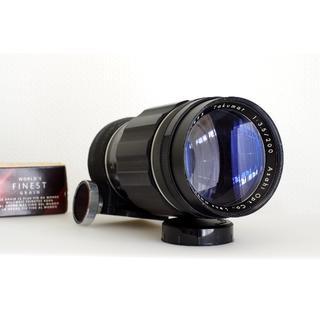 ペンタックス(PENTAX)の円形ボケ銘玉 Takumar 1:3.5/200 M42 稀少・美品(フィルムカメラ)