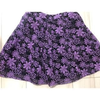 ドーリーガールバイアナスイ(DOLLY GIRL BY ANNA SUI)のドーリーガールバイアナスイ スカート 花柄(ミニスカート)